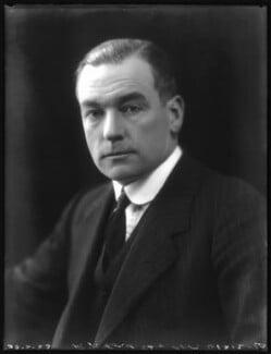 Sir Patrick Johnstone Ford, 1st Bt, by Bassano Ltd - NPG x122342