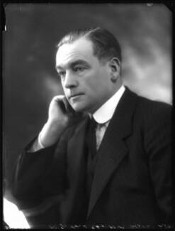 Sir Patrick Johnstone Ford, 1st Bt, by Bassano Ltd - NPG x122343