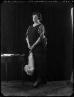 Eleanor ('Nellie') Byng (née Souray), Viscountess Torrington, by Bassano Ltd - NPG x122349