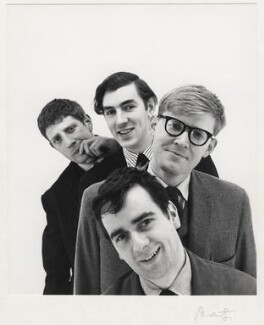 Beyond the Fringe (Jonathan Miller; Peter Cook; Dudley Moore; Alan Bennett), by Cecil Beaton - NPG x126027