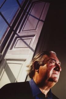 Sir James Fraser Stirling, by Philip Sayer - NPG x76331