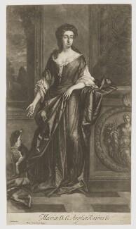 Charlotte Lee (née Fitzroy), Countess of Lichfield, by Isaac Beckett, after  Sir Godfrey Kneller, Bt - NPG D17886