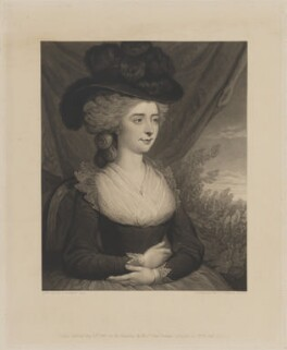 Fanny Burney, by Charles Turner, published by  Paul and Dominic Colnaghi & Co, after  Edward Francisco Burney - NPG D13846