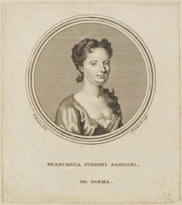 Francesca Cuzzoni, by James Caldwall, after  Enoch Seeman - NPG D13887