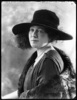 Anne Vere Chamberlain (née Cole), by Bassano Ltd - NPG x122418