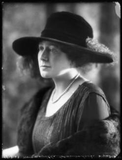 Anne Vere Chamberlain (née Cole), by Bassano Ltd - NPG x122419