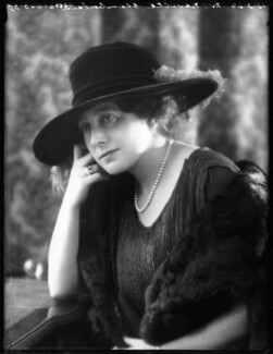 Anne Vere Chamberlain (née Cole), by Bassano Ltd - NPG x122420