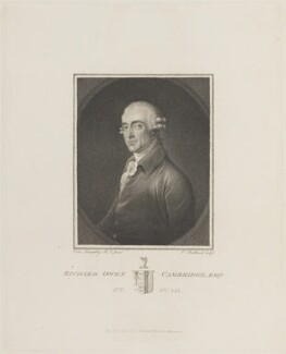Richard Owen Cambridge, by and published by Charles (Cantelowe, Cantlo) Bestland, after  Ozias Humphry - NPG D13890