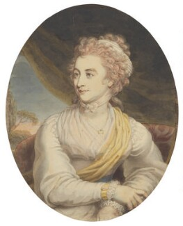 Susanna Phillips (née Burney), by Edward Francisco Burney - NPG D13896
