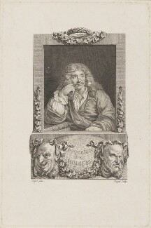 Molière, by Etienne Ficquet, after  Coypel - NPG D13909
