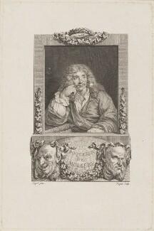 Molière, by Etienne Ficquet, after  Coypel - NPG D13909