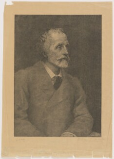 George Meredith, by William Biscombe Gardner, after  George Frederic Watts, circa 1893-1919 (1893) - NPG D17893 - © National Portrait Gallery, London