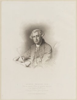 Arthur Murphy, by Edward Scriven, published by  T. Cadell & W. Davies, after  John Jackson, after  Nathaniel Dance (later Sir Nathaniel Holland, Bt) - NPG D13850