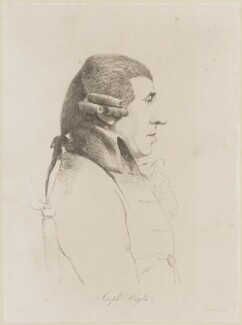 Joseph Haydn, by William Daniell, after  George Dance - NPG D13854