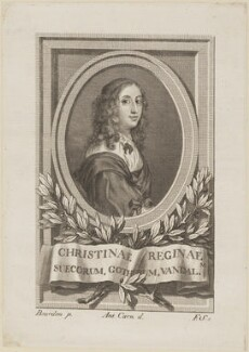 Christina, Queen of Sweden, after Sébastien Bourdon - NPG D13858