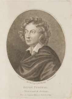 Henry Purcell, by William Nelson Gardiner, published by  E. & S. Harding, after  Silvester Harding, published 1 November 1794 - NPG D13860 - © National Portrait Gallery, London