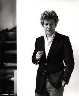 Patrick Lichfield, by Roger George Clark, 14 February 1979 - NPG x15105 - © Roger George Clark / National Portrait Gallery, London