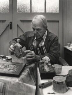Henry Moore, by Roger George Clark - NPG x15111