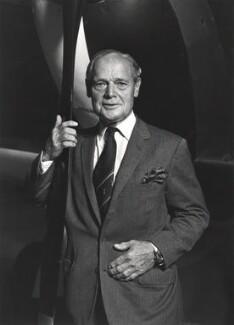 Sir Douglas Robert Stewart Bader, by Roger George Clark - NPG x29111