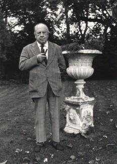 J.B. Priestley, by Roger George Clark - NPG x29116