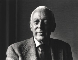 Alistair Cooke, by Roger George Clark - NPG x15102