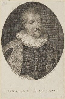 George Heriot, by David Scougall, after  Daniel Lizars - NPG D13879