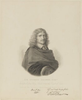 Sir Richard Browne, Bt, by Robert Nanteuil, after  Philipp Audinet - NPG D13882