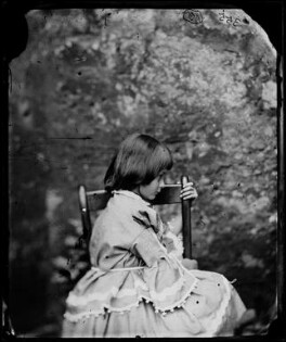 Alice Liddell, by Lewis Carroll (Charles Lutwidge Dodgson), Summer 1858 - NPG P991(1) - © National Portrait Gallery, London and the National Media Museum (part of the Science Museum Group, London)