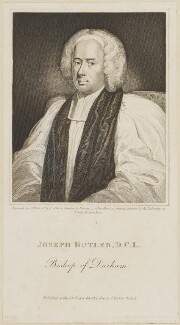 Joseph Butler, by James Fittler, published by  J. Parker, after  Allan Ramsay - NPG D13914