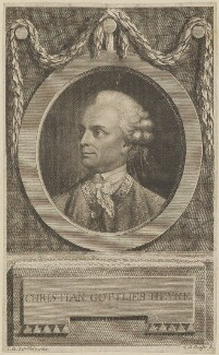 Christian Gottlieb Heyne, by Christian Gottlieb Geyser, after  Johann Heinrich Tischbein the Elder - NPG D13921