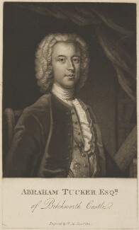 Abraham Tucker, by William Say, after  Enoch Seeman - NPG D13922