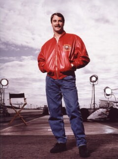 Nigel Mansell, by Terry O'Neill - NPG x87442