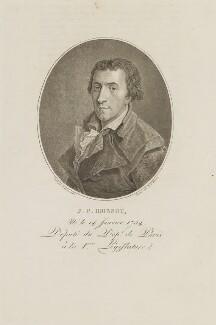 Jacques-Pierre Brissot de Warville, by N.F. Maviez, after  François Bonneville - NPG D13932