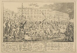 Grand Entrance to Bamboozl'em, attributed to Theodore Lane, published by  George Humphrey - NPG D17900