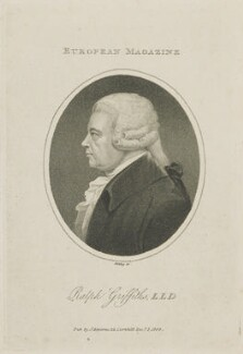 Ralph Griffiths, by William Ridley, published by  James Asperne - NPG D13946