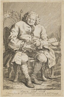 Simon Fraser, 11th Baron Lovat, by William Hogarth - NPG D13960