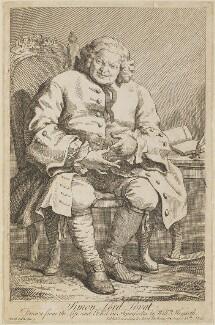 Simon Fraser, 11th Lord Lovat, by William Hogarth - NPG D13960