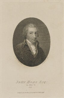 John Home, by Edward Mitchell, published by  George Reid & Co, after  Anthony Stewart - NPG D13963