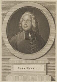 Abbé Prévost (Antoine François Prévost d'Exiles), after Therese de Vaux - NPG D13965