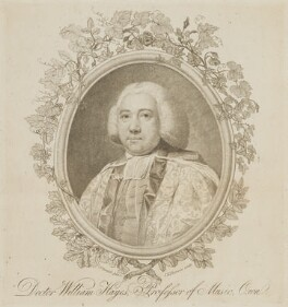 William Hayes, by John Keyse Sherwin, after  John Cornish - NPG D13970