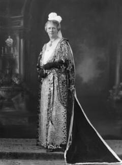 (Anne) Frances May Blomfield (née Burra), by Bassano Ltd - NPG x18802