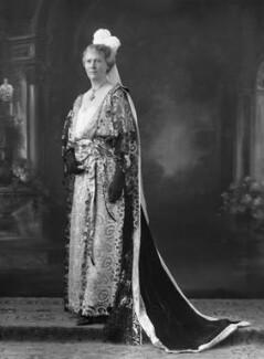 (Anne) Frances May Blomfield (née Burra), by Bassano Ltd - NPG x18803
