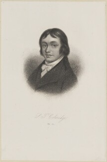 Samuel Taylor Coleridge, by Unknown artist - NPG D13985