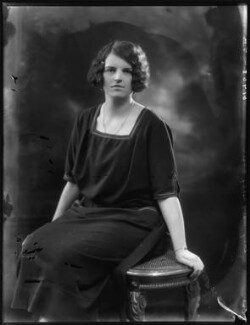 Mary Sibell Sturt (née Ashley-Cooper), Lady Alington, by Bassano Ltd, 11 May 1923 - NPG x122481 - © National Portrait Gallery, London