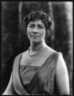 Emmeline Augusta Louisa (née de Rutzen), Lady Newnes, by Bassano Ltd, 28 May 1923 - NPG x122496 - © National Portrait Gallery, London