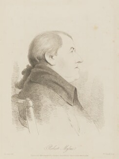 Robert Mylne, by William Daniell, after  George Dance - NPG D13994