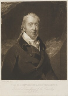 Henry Phipps, Viscount Normanby and Earl of Mulgrave, by and published by Charles Turner, after  Sir Thomas Lawrence - NPG D13995