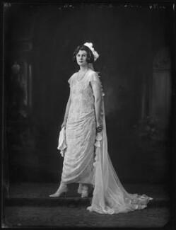 Lady Mary Constance Hamilton Gosling (née FitzMaurice), by Bassano Ltd - NPG x122501