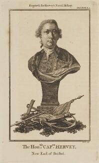 Augustus John Hervey, 3rd Earl of Bristol, by James Heath, after  Sir Joshua Reynolds - NPG D14000