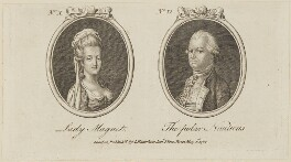 'Lady Magnet and The polar Nauticus' (Henry Phipps, Viscount Normanby and Earl of Mulgrave), published by Archibald Hamilton Jr - NPG D14001